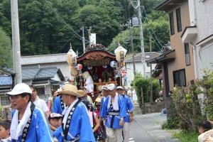 八坂神社祭典2
