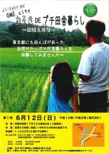 田植え2016ポスター
